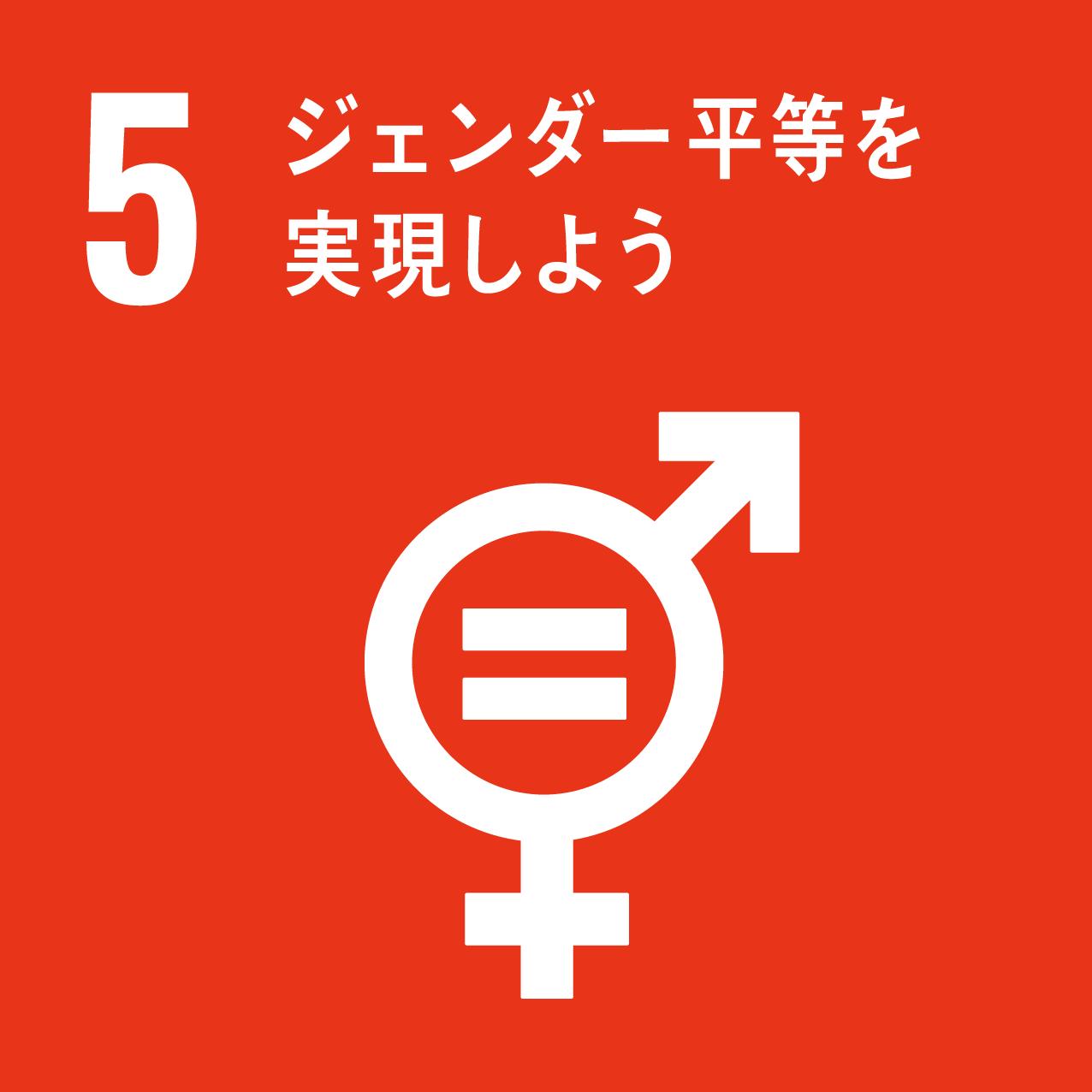 ジェンダー(男女格差)平等を実現しよう
